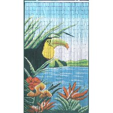 Natural Bamboo Tucan Curtain Single Panel