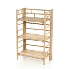 Natural Bamboo 3 Tier Shelf