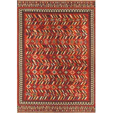 Kilim Orange Tribal Rug