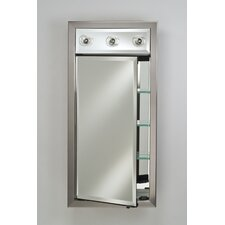 Signature Single Door Medicine Cabinet with Lights