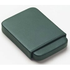 Bridle Business Card Slide Case in Green