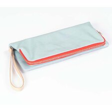 Carina Foldover Clutch in Blue