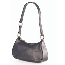 Vachetta L'il Hobo Handbag in Black