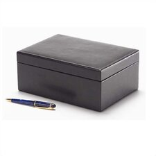 Tuscan Rectangular Box in Black