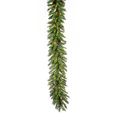 "Cheyenne Pine 600"" Cheyenne Garland with 350 Clear Lights"