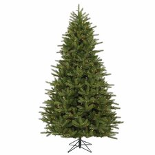 Majestic 7' Green Frasier Artificial Christmas Tree with 950 Dura-Lit Multi Lights with Stand