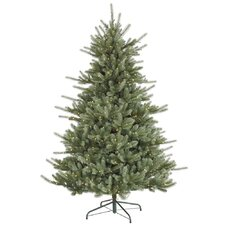 "Colorado 7' 6"" Blue Spruce Artificial Christmas Tree with 700 Dura-Lit Clear Lights with Stand"