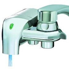 F-8C Chrome Faucet Mount Water Filter System