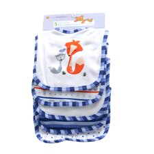 5 Pack Cotton Bib