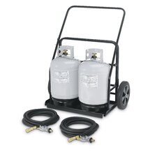 Remote Propane Cart