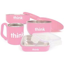 Complete 4-Piece BPA Free Feeding Set