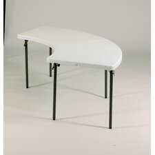 "96"" W x 30"" D Serpentine Folding Table"