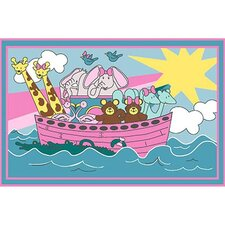 Fun Time Noah's Ark Kids Rug