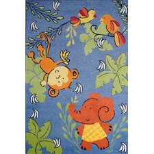 Night Flash Kids Rug