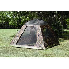 Headquarters Square Dome Tent in Camouflage