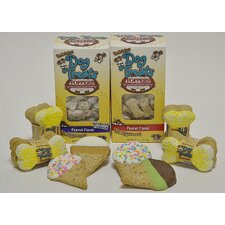 """We all Howl for Ice Cream"" 170 Piece Dog Treat Gift Set"