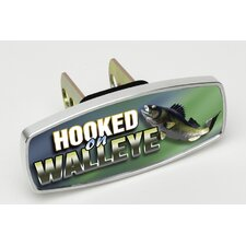 HitchMate Hooked on Walleye Premier Series Hitch Cap