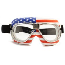 Nannini Cruiser Flag USA Goggle