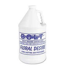 1 Gallon Liquid Deodorizer Floral Bottle