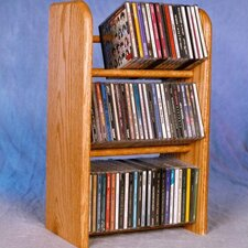 300 Series 78 CD Dowel Multimedia Tabletop Storage Rack