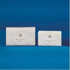2.5 Oz Deodorant Soap Bar in White (200/Case)
