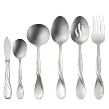 Satin Aquarius 6 Piece Serving Set