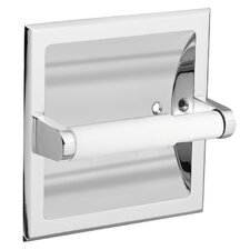Recessed Fixtures Toilet Paper Holder in Polished Stainless Steel