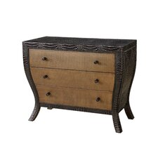 Mirage Distressed Three Drawer Croco Bombay