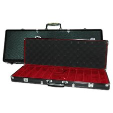 500 Piece Poker Case in Black Aluminum