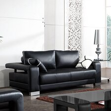 Contempo Leather Sofa