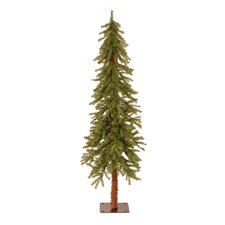 6' Green Hickory Cedar Artificial Christmas Tree