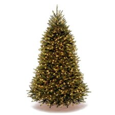 Dunhill Fir 7.5' Green Artificial Christmas Tree with 750 Clear Lights