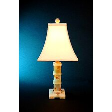 Chartreuse Onyx Piano Table Lamp