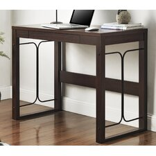 Parsons Desk With Drawer and Metal Accent