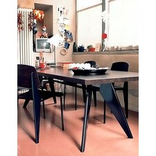 EM 5 Piece Standard Chair Dining Set by Jean Prouvé