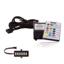 Wireless RGB Lighting Controller with 6-Outlet MH Hub Adapter
