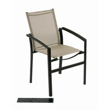 Out of Blue Ozalide Stacking Dining Arm Chair
