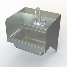 "NSF 17"" x 15"" Commercial Utility Sink with Faucet"