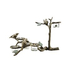 Bird and Branch Votive Holder