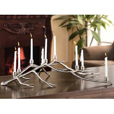 Branch Centerpiece Sculpture Aluminum Candelabra