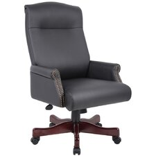 Traditional High-Back Executive Chair