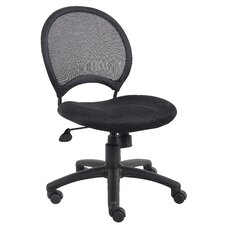 Height Adjustable Mesh Chair with Casters
