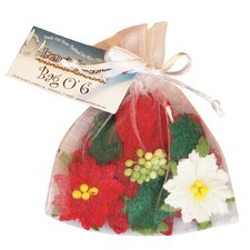 Irene's Garden O'Poinsettias Flower Bag (Set of 25)