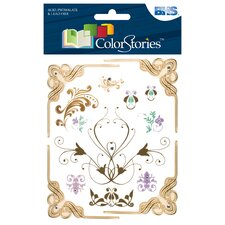 Colorstories Jeweled Rub-Ons
