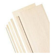 Bass Wood Sheets (Set of 10)