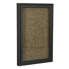 Enclosed Rubber Tak Bulletin Board