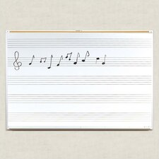 Porcelain Lifetime Music Boards 4' x 10'