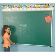 Porcelain Steel Chalkboards - Aluminum Trim