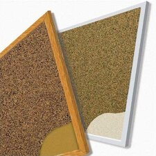 Splash-Cork Tackboards - Aluminum Trim