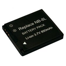 New 850 mAh Rechargeable Battery for CANON Cameras
